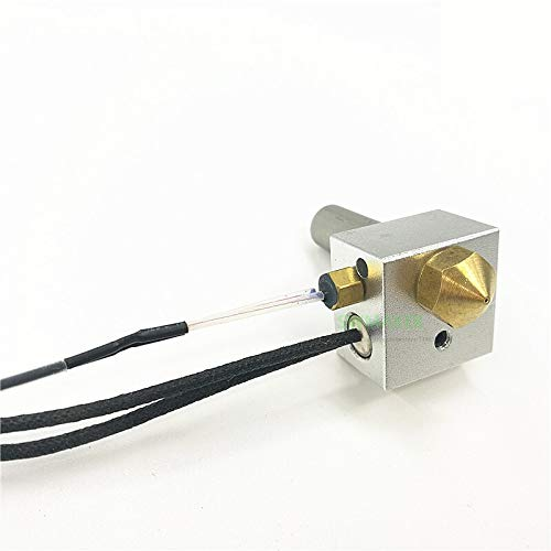 Fashion SHOP Thermistors Duplicator I3 PLUS 3D Printer Parts MK10 Extruder Hotend Kit + Heater Cartridge + M3 Hex Thermistor Temperature sensitive (Color : Option2)