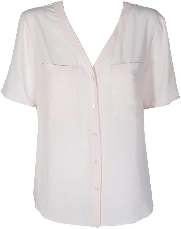 1.State Womens Ss Button Up Shirt