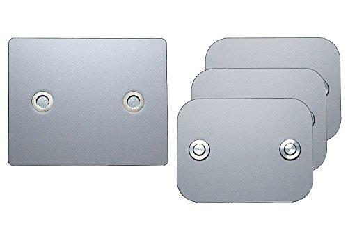 TEC iConnect Set für Österreich - Set Motorrad 3 Fahrzeuge - Kennzeichenhalter Wechselsystem/Wechselkennzeichen
