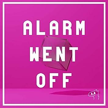 Alarm Went OFF