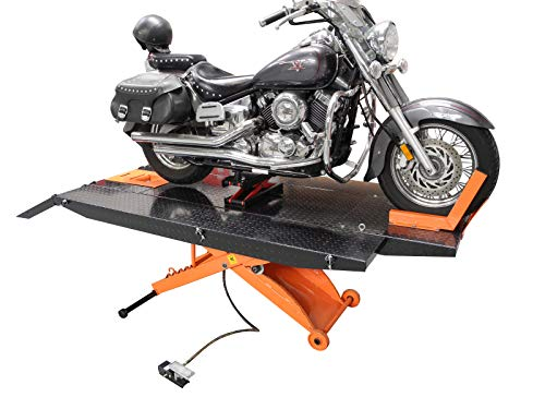 Redline HD1K 1000 lb Motorcycle ATV Lift Table Orange