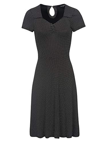 Vive Maria French Day Dress Black Allover, Größe:S