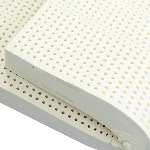 Buy Discount MISS&YG Latex Mattress Topper, Natural 99% Latex Matress, Goose Down Jacquard Mattress ...