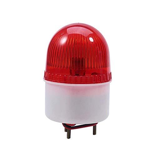 LTE-2071 DC 220V Lámpara de señal de destello roja Luz industrial brillante