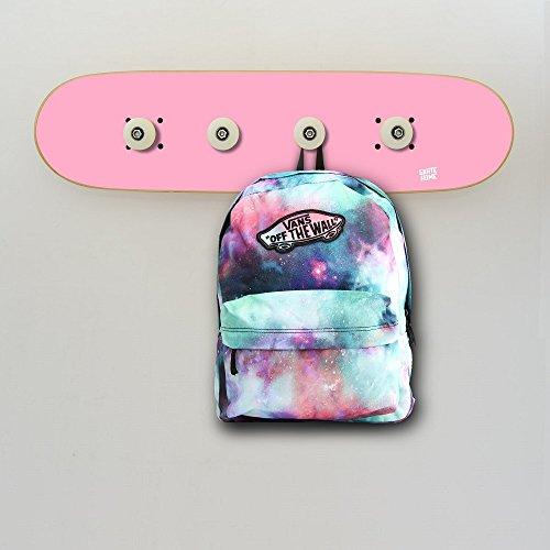 Wandgarderoben Dekoration Skateboard für Skaters, garderoben Rosa