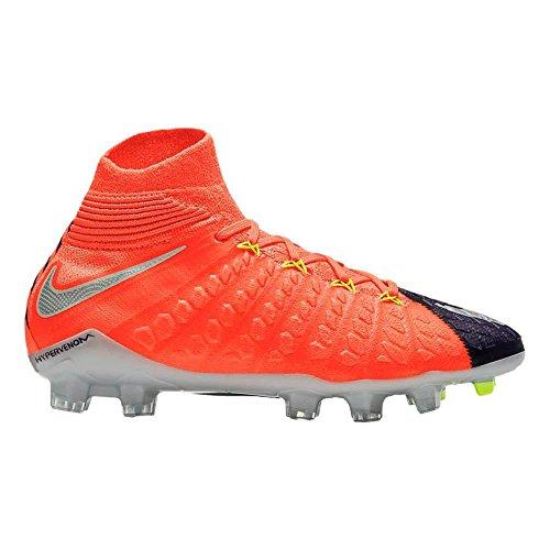 Nike Hypervenom Phantom III DF FG, Scarpe da Calcio Unisex-Adulto, Arancione (Orange Orange), 38 EU