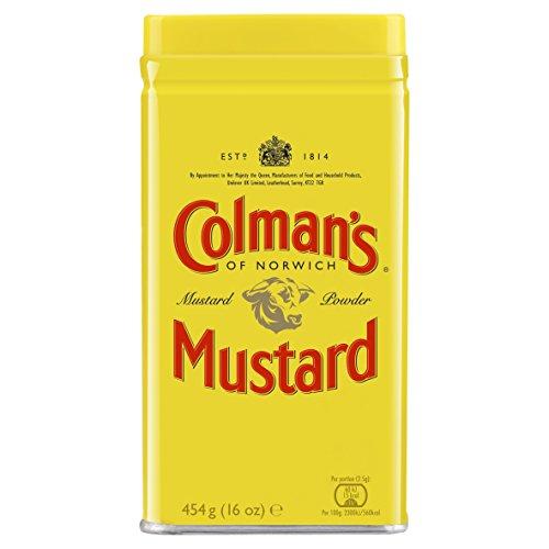 Colman`s Original engl. Senfpulver, 1er Pack (1 x 454 g)