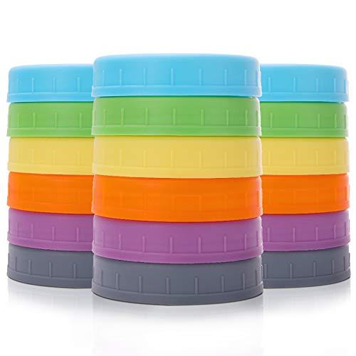 plastic mason jars large - 7