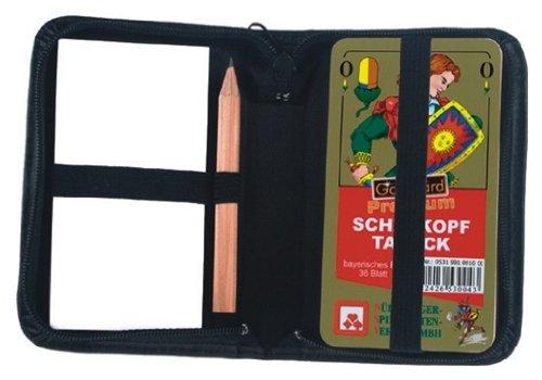 Nuernberger Spielkarten - 05319981001 - Schafkopf Premium bayerisches Bild im Lederetui