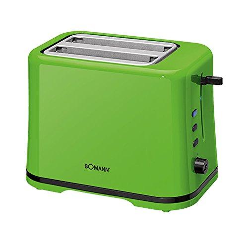 Bomann TA 1577 CB Toaster, automatischer Toaster, 2 Scheiben, Schwarz