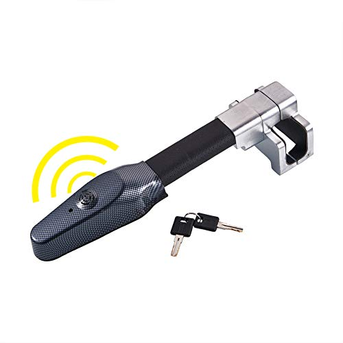 Blueshyhall Car Anti-Theft Device,Universal Steering Wheel Lock Car Anti Theft Safety Alarm Lock...