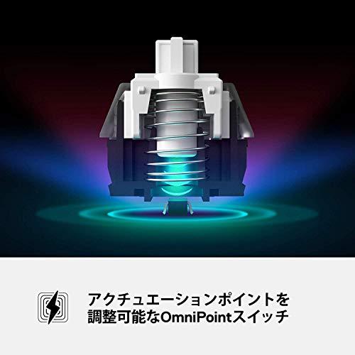 【国内正規品】SteelSeries日本語配列ゲーミングキーボードApexProJP磁気ホール効果センサーOmniPointスイッチ有機ELディスプレイ搭載