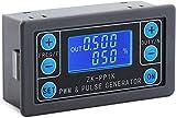 DollaTek PWM Signal Generator 1Hz ~ 150KHz Dual Mode Generator Frequenza di impulso regolabile Rapporto di lavoro Modulo a onda quadra rettangolare con custodia