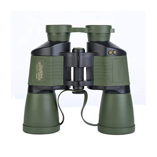 TASGK 10x50 Prismáticos para Niños Adultos, Dinámica Autoenfoque BAK-4 Prism FMC Lente Prismáticos Compactos con Visión Nocturna de Poca Luz Vida Impermeables Prismáticos