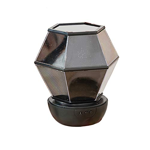 Timagebreze Luz de Proyector Estrella Luz de Noche de Cielo Estrellado LáMpara de Mesa LED Luz de Las Estrellas Lite Luz de Noche Regalo Tragaluz para Dormitorio de NiiOs