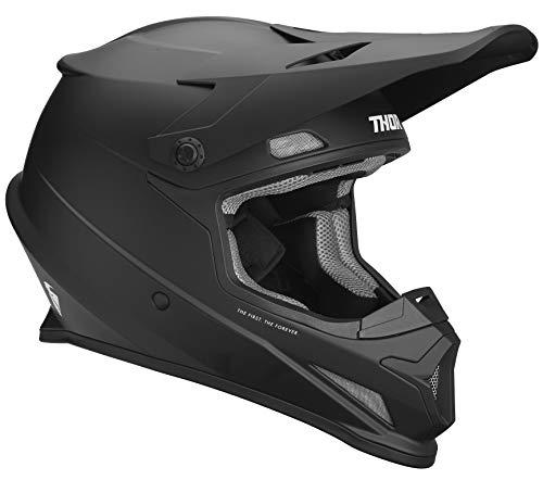 Thor Crosshelm Sector MX Enduro Motocross Helm schwarz matt Gr. M