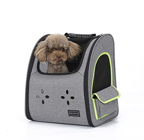 Petsfit Dogs Carriers Backpack for Cat/Dog/Guinea...