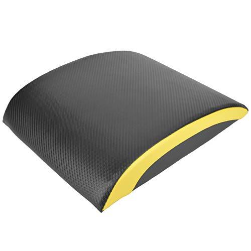 DAUERHAFT Colchoneta para Abdominales Equipo de Entrenamiento de Cuero de PVC Portátil, Fitness, Entrenamiento de Cintura