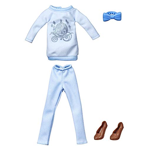 Disney Princess Comfy Squad Fashion Pack for Cinderella Doll, Clothes for Disney Fashion Doll Inspired by Ralph Breaks The Internet Movie