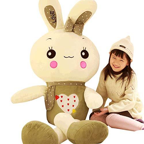 Xiaokang 170 cm Juguete de Peluche muñeca de Conejo Lindo Grande Peluche Juguete pequeño Conejo...