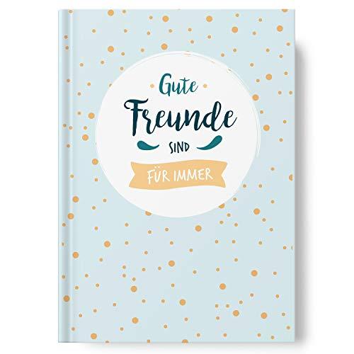 Sophies Kartenwelt Freundebuch zum Ausfüllen im A5 Format - Gästebuch für Meine Freunde - Kinder & Erwachsene - mit persönlichen Fragen
