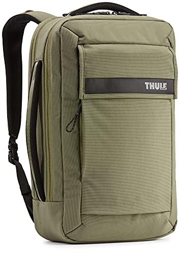 Thule Paramount Borsa per computer portatile con scomparto per tablet convertibile in zaino, Verde