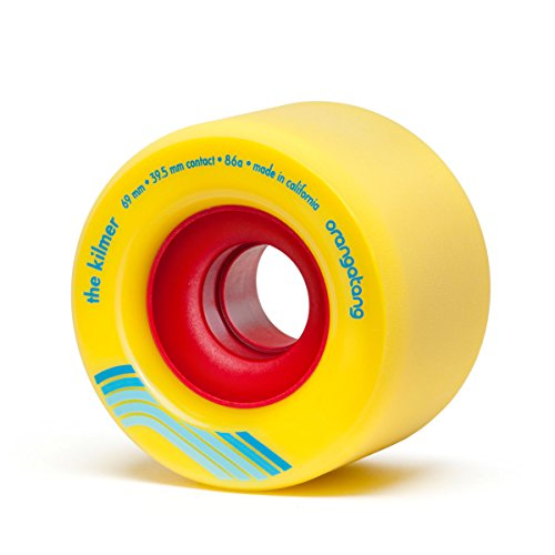 Orangatang Kilmer 69 mm Freeride Longboard Skateboard Wheels