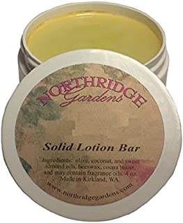 Northridge Gardens Cherry Almond Solid Lotion Bar 1oz