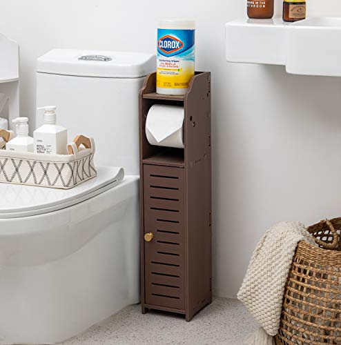 Top 10 best selling list for toilet paper holder stand brown