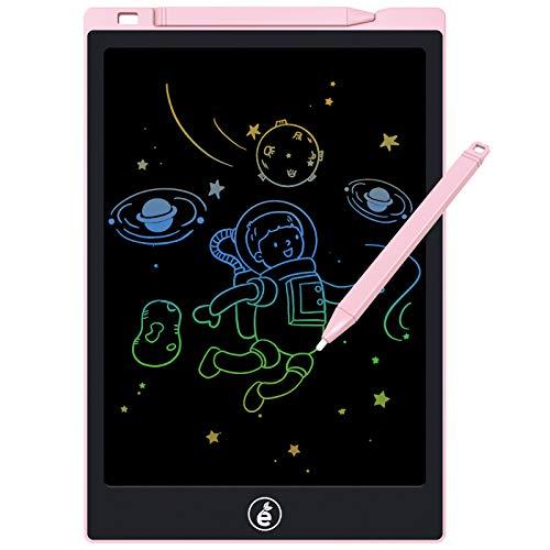 Tavoletta da scrittura LCD,tavolo da disegno e scrittura elettronico da 11 pollici,tavoletta digitale da scrittura portatile cancellabile Board Memo per bambini e adulti a casa,scuola,ufficio (rosa)