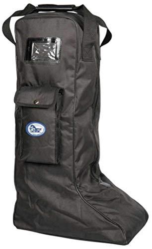 Harrys Horse Stiefeltasche Reitstiefeltasche Tragetasche für Reitstiefel schwarz Reitstiefel Tasche Reitstiefel Schutz Stiefelbeutel Tasche für Reitstiefel Reitertasche