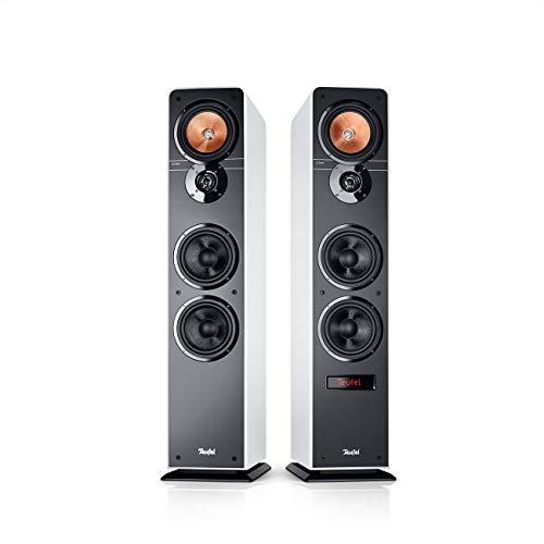 Teufel Ultima 40 Aktiv Weiß Stereo Lautsprecher Musik Sound Hochtöner Mitteltöner Bass Speaker High End HiFi Tieftöner Schalldruck Soundanlage