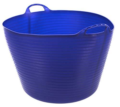 Kerbl 326198 Flexibler Trog FlexBag, 60 L, blau