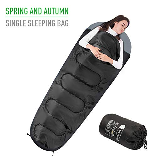 Active Forever Premium mummieslaapzak, licht – slaapzak voor kamperen, wandelen, toerisme en outdoor-activiteiten