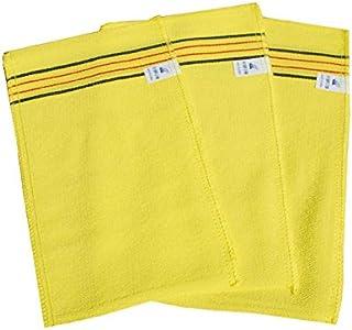 Amazing Korea Bath Massage Towel Large Size Asian Exfoliating Bath Washcloth 10 pcs Korea representative brand