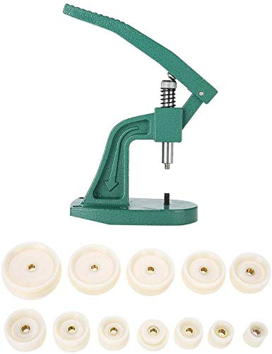 LNDDP Uhrenpresswerkzeug, Crystal Uhrenpresswerkzeug Armbanduhr Rückseite Gehäuseabdeckung Pressen mit Matrizen Professionelles Reparaturwerkzeug