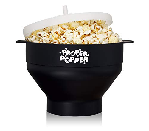 Cheap The Original Proper Popper Microwave Popcorn Popper, Silicone Popcorn Maker, Collapsible Bowl ...