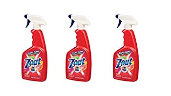 3 PACK Zout Laundry Stain Remover Triple Action Spray 22 fl oz  651 ml