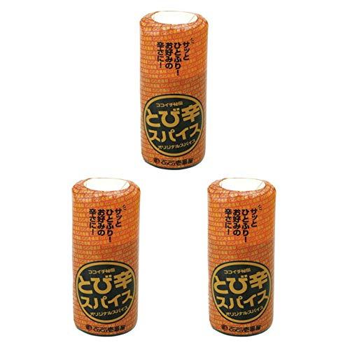 CoCo壱番屋 とび辛スパイス ココイチ秘伝のスパイス (3本セット)