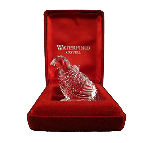 Waterford 12 Days of Christmas 1995 Annual Ornament - Partridge in a Pear Tree