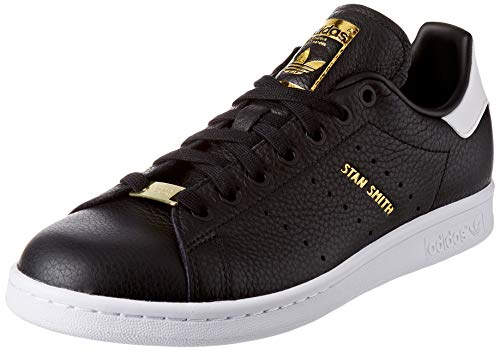 adidas Stan Smith, Scarpe Uomo, Nero (Core Black/Core Black/Cloud White), 41 1/3 EU