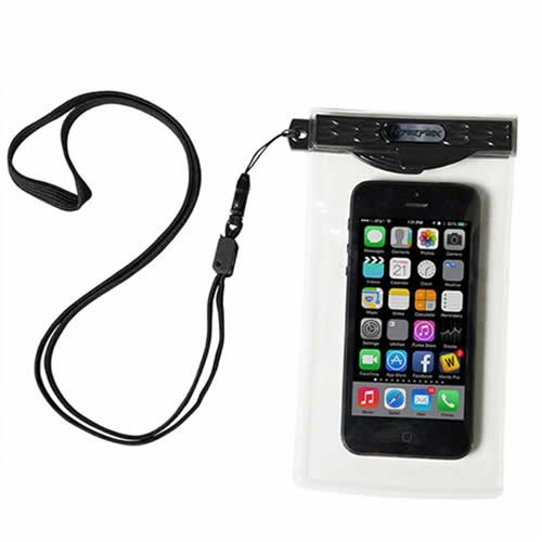 Hyperflex Premium Pocket Waterproof Smartphone Dry Case - Industrial Grade Locking Seal for Ultimate Cell Phone Protection & Waterproof Camera Capabilities - iPhone 5S, iPhone 5C, iPhone 5, iPhone 4, Motorola Droid, HTC One, Windows, LG Optimus, Blackberry and others