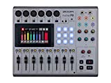 Zoom PodTrak P8 Podcast Recorder, 6 Microphone Inputs, 6 Headphone Outputs, Phone Input, Sound Pads, Onboard Editing, Record to SD card, USB Audio Interface, Battery Powered
