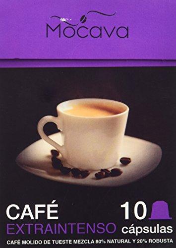 Mocava Café Extra Intenso - 10 Cápsulas