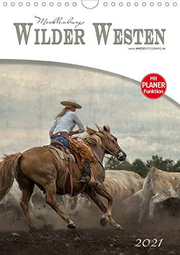 Mecklenburgs Wilder Westen (Wandkalender 2021 DIN A4 hoch)