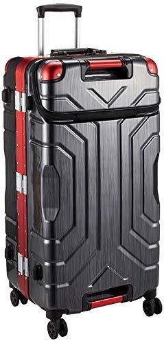 [シフレ] スーツケース ハードフレーム ESCAPE'S(エスケープ) GripMaster(グリップマスター) 搭載 上パカ仕様 B5225T-74UP 保証付 85L 74 cm 5.9kg ヘアラインBK/RD