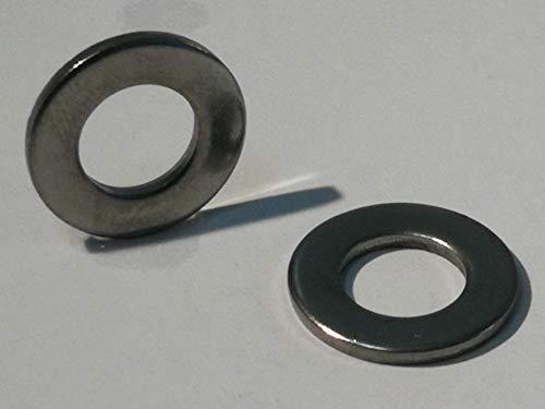 25 Stück Unterlegscheiben Edelstahl A4 DIN 125 Form A (Edelstahl V4A, M8)