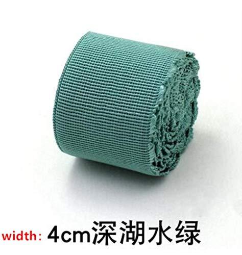 2M Flat Suede Stof Elastische Band voor Ondergoed Broek BH Taille Ongeveer 4 cm Brede Elastische Rubber Band DIY naaien Accessoires 2M L