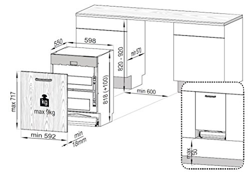 Beko DIN28330 Geschirrspüler Vollintegriert / A+++ / - 3