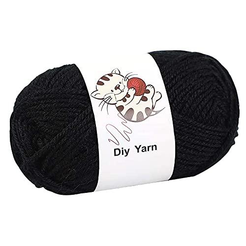 Colorido hilo bola tejer a mano 25g tejer ganchillo leche suave bebé algodón lana ganchillo hilo...